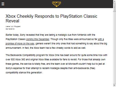 プレイステーションクラシック Xbox ソニー マイクロソフトに関連した画像-02