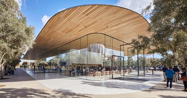 Apple 新キャンパス 透明ガラスに関連した画像-01