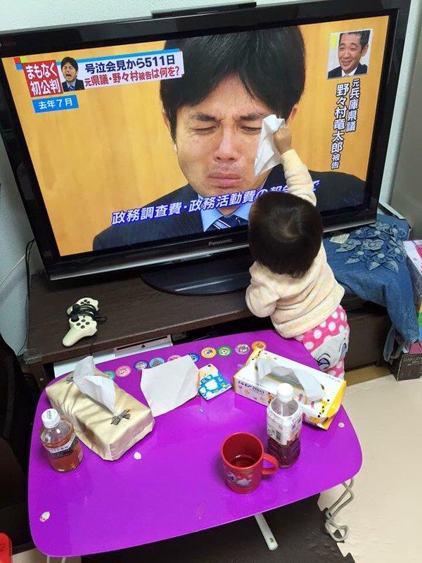 野々村竜太郎 幼女 テレビ 号泣 ツイッター 感動 に関連した画像-03