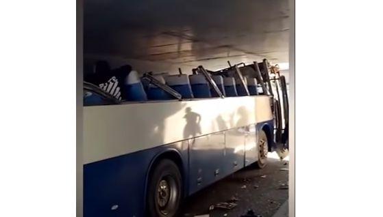 バス 運転手 遅刻 ショートカット 事故 トンネルに関連した画像-03