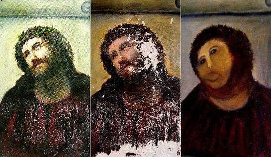 絵画 修復 スペイン 失敗 専門家に関連した画像-03
