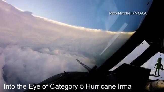 ハリケーン イルマ 台風の目に関連した画像-01