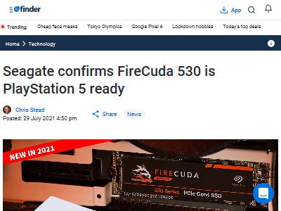 Seagate PS5 SSD 価格 値段に関連した画像-02