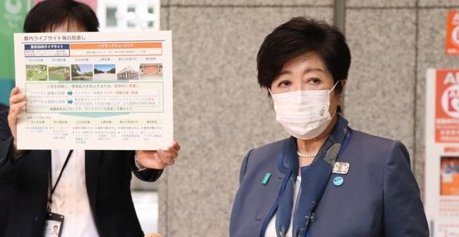 小池百合子 都知事 パブリックビューイング 中止 東京五輪に関連した画像-01