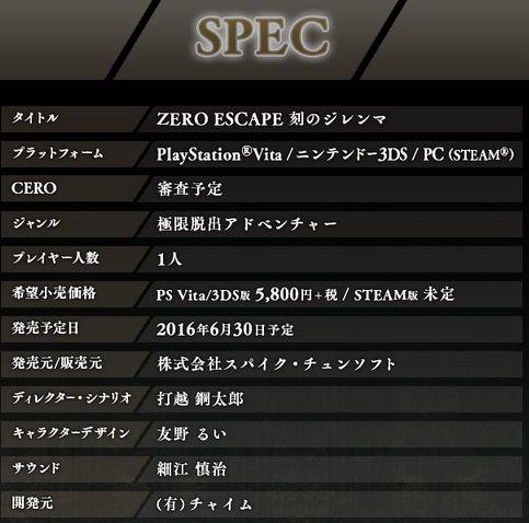 打越鋼太郎 極限脱出 zero escape 刻のジレンマ 発売日 杉田智和 豊崎愛生 pv steamに関連した画像-06