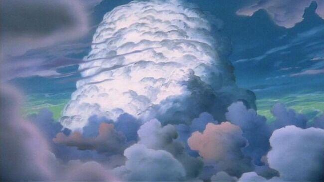 入道雲 iPhone 天国 写真 ツイッターに関連した画像-01