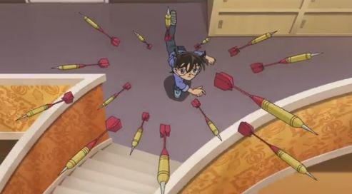 名探偵コナン 最新話 伝説 神回 コナン 犯人 殺害 ダーツ ホームアローンに関連した画像-04