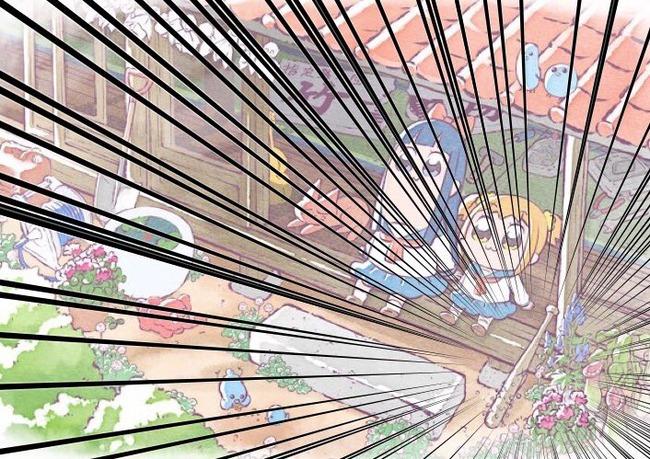 ポプテピピック クソアニメ キービジュアル 癒し系 日常 竹書房に関連した画像-03