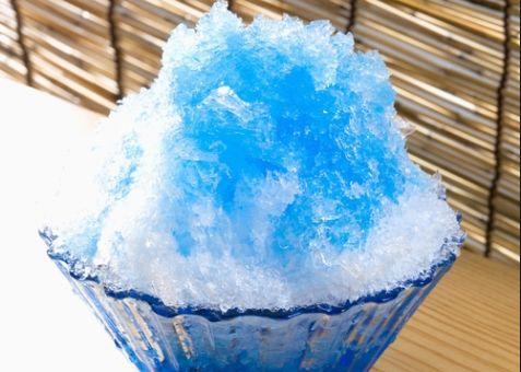 かき氷 ブルーハワイ 味に関連した画像-01
