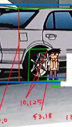 名探偵コナン コナン 身長 ER34 タイヤに関連した画像-03