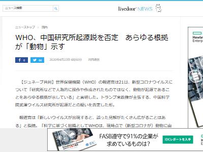WHO 中国 新型 コロナウイルスに関連した画像-02