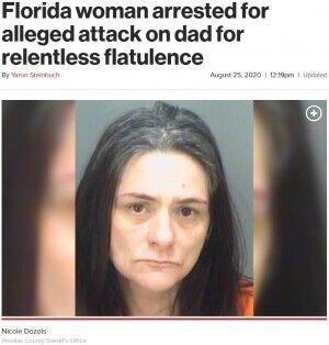 おなら 父親 殴る フロリダ州 娘に関連した画像-03