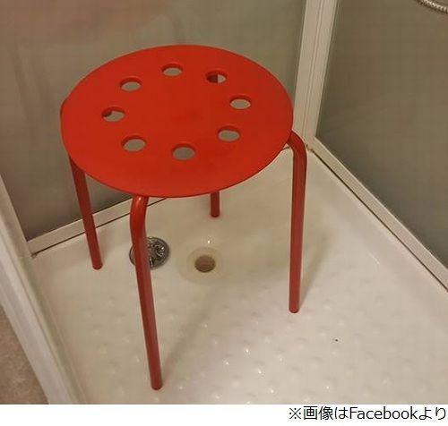 IKEA シャワー用のイス 睾丸に関連した画像-03