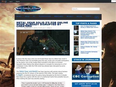 メタルギアソリッド MGS メタルギアソリッド5 MGSV FOB チートに関連した画像-02