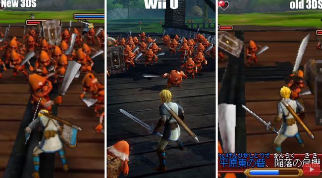 WiiU 3DS ゼルダ無双 に関連した画像-01