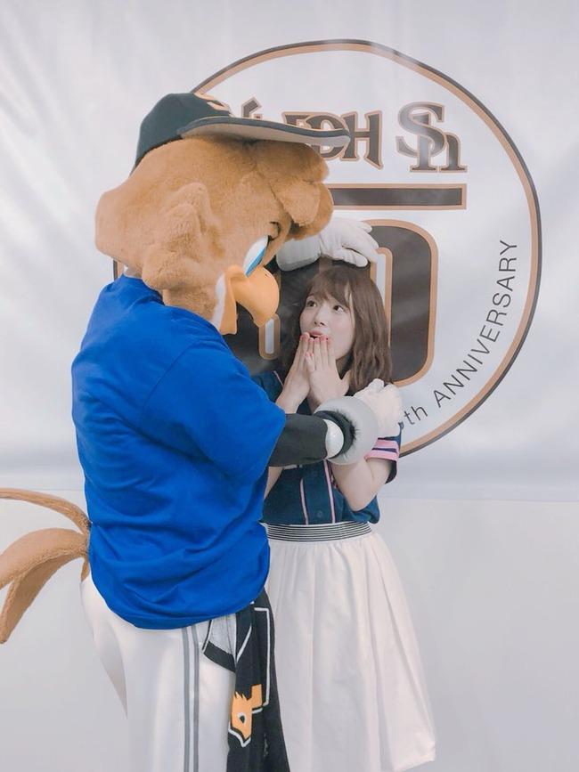 声優 内田真礼 劣等種 オタク スポーツ選手 笑顔 ソフトバンクホークスに関連した画像-09
