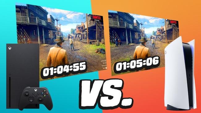 PS5 XboxSX ロード時間 比較に関連した画像-01