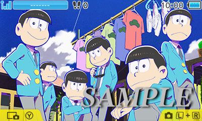 おそ松さん 3DS テーマに関連した画像-01