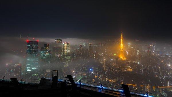神秘的 濃霧 東京 首都圏 RPG ラストダンジョン ホラー 夜景に関連した画像-02