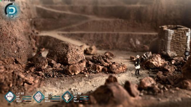 坂口博信 ファンタジアン ジオラマ RPG スクリーンショットに関連した画像-02