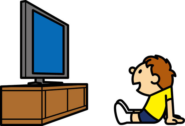 「テレビ見る」の画像検索結果