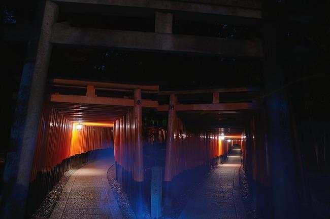 心霊写真 伏見稲荷大社 撮影 ホラーに関連した画像-04