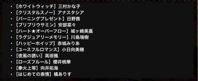 デレステ 期間限定 SSR Sレア アイドル 復刻 再登場に関連した画像-03
