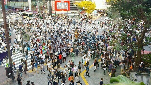 東京都の人口が1395万人を突破!来年には1400万人を超える見込とかもうパンク寸前だろ…
