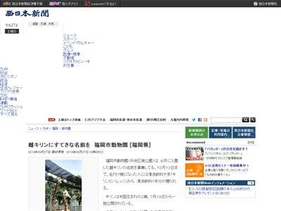 福岡 キリン 修羅の国に関連した画像-02
