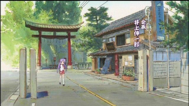 らき☆すた 鷲宮神社 鳥居 崩壊に関連した画像-01