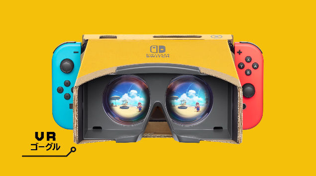 ニンテンドーラボ ニンテンドースイッチ VR スーパーマリオオデッセイ ゼルダの伝説 ブレスオブザワイルドに関連した画像-02