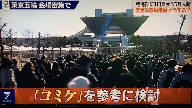 東京五輪 混雑 コミケ 参考に関連した画像-01