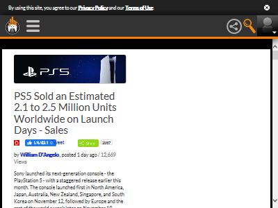 PS5 初日 売上に関連した画像-02