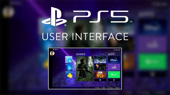 PS5 UI 近日公開 オーバーホールに関連した画像-01