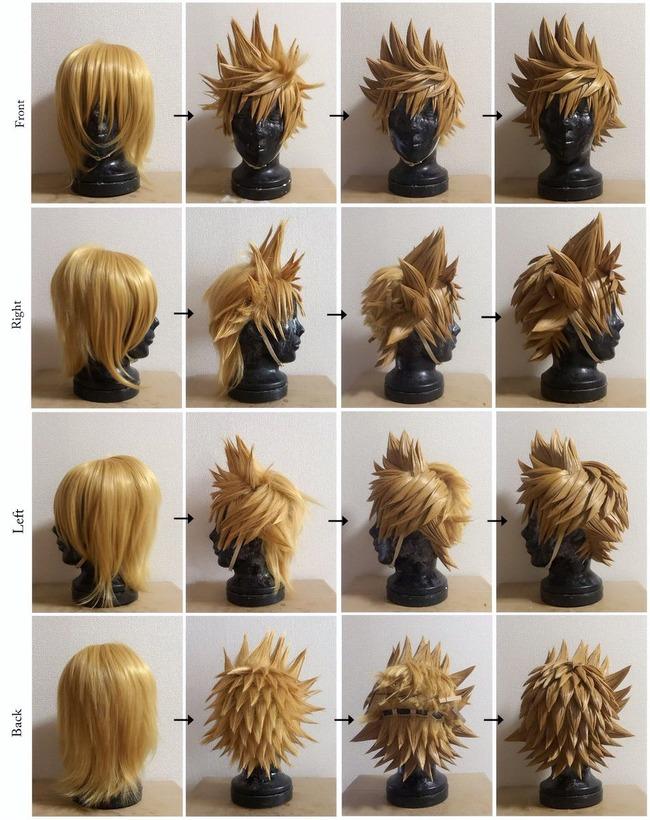 キングダムハーツ キンハー ロクサス 髪型 ウィッグに関連した画像-03