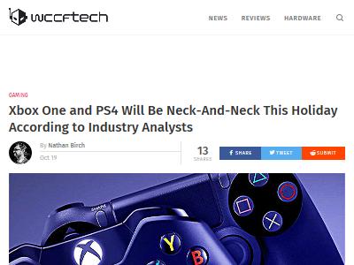 PS4 XboxOne 年末商戦に関連した画像-02
