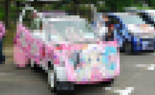 痛車 最強 天下無双 東西最強痛車決戦 クド 改造費 1千万円以上に関連した画像-01