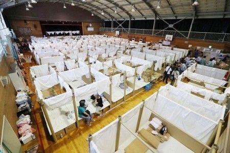 災害 避難所 パーテーション 間仕切り 衝立 フィリピン 日本に関連した画像-04