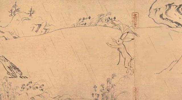 鳥獣戯画 ジブリ アニメ CM 丸紅新電力に関連した画像-09