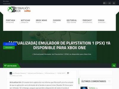 XboxOne PS1 エミュレーターに関連した画像-02
