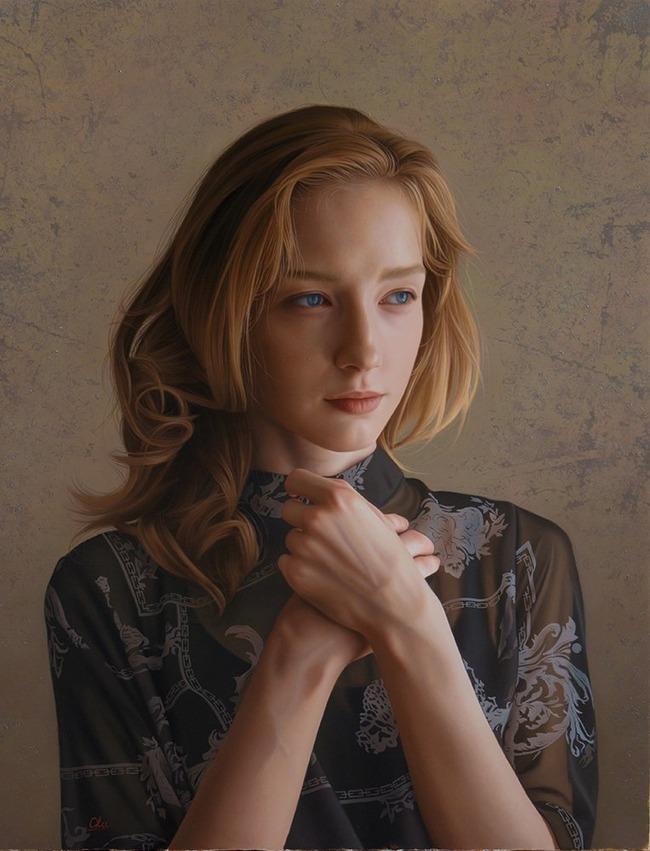 油絵 人物画に関連した画像-05