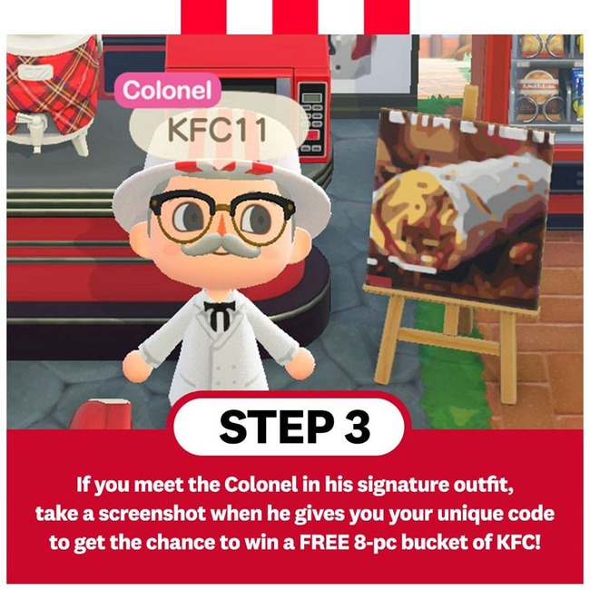 ケンタッキー KFC どうぶつの森に関連した画像-06