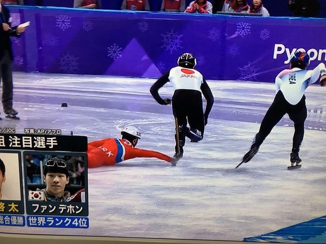 オリンピック 五輪 スピードスケート ショートトラック 北朝鮮 妨害に関連した画像-06