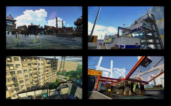 スプラトゥーン ステージ アップデート アンチョビットゲームズに関連した画像-10
