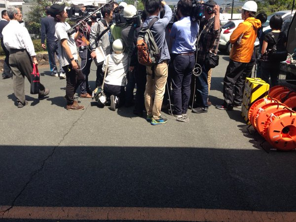 熊本地震 マスコミ 邪魔に関連した画像-02