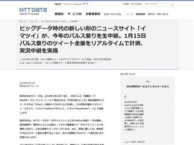 バルス祭り NTT 計測に関連した画像-02