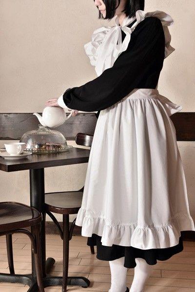 シャーロー 森薫 メイド服に関連した画像-05