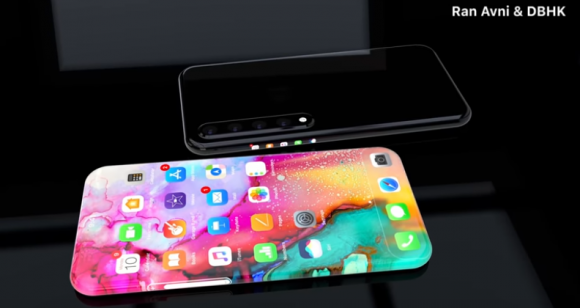 iPhone XI コンセプトイメージ ベゼルレスデザイン 側面ショートカットに関連した画像-03