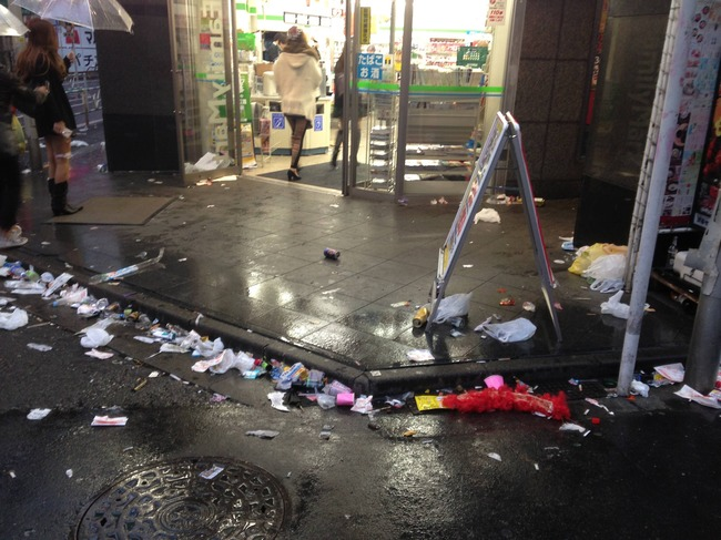 ハロウィン 渋谷 ゴミに関連した画像-05