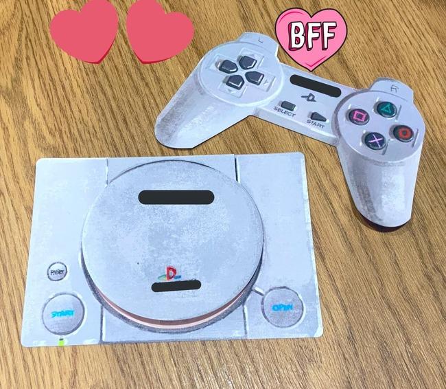 結婚式 新郎新婦 ゲーム好き 初代PSゲームソフト風 ゲストブックに関連した画像-06